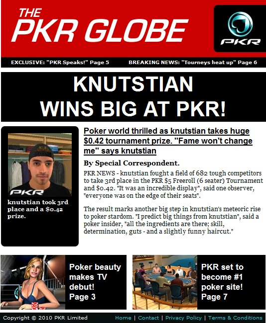 KnutStian wins big at PKR